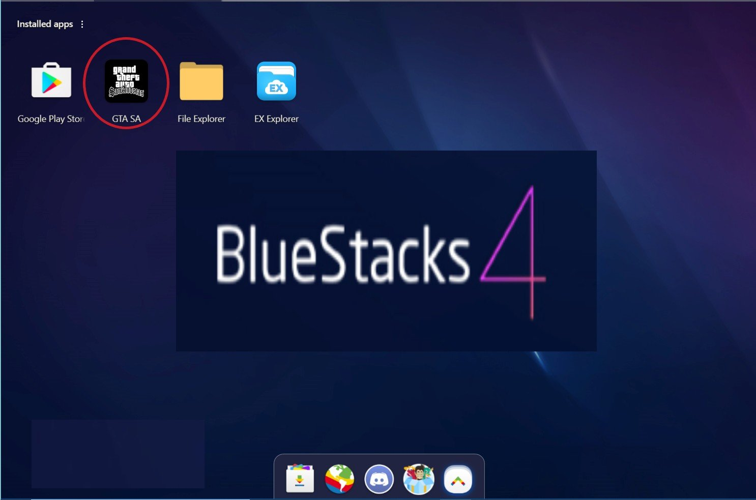 how to put obb file in bluestack android emulator for PC