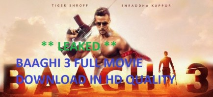 Baaghi 3 Full Movie Download Online {1080p 720p} HD Quality