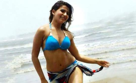 Samantha Akkineni Hot Bikini Images Navel Show Wallpapers Pics HD Photos