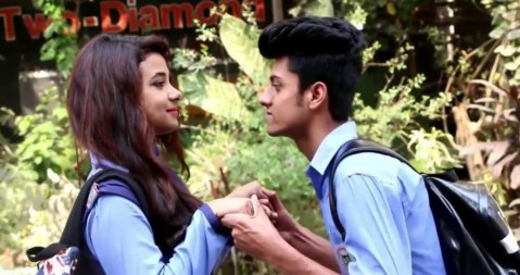 School Love Story In Hindi