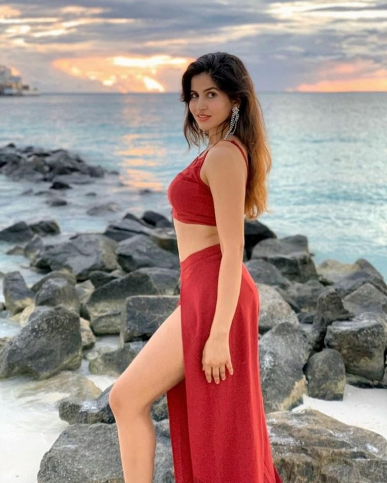 Actress Sakshi Malik