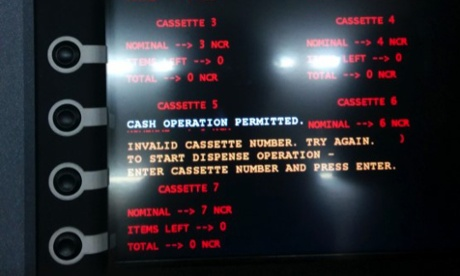 Tyupkin Malware used to drain millions from ATMs