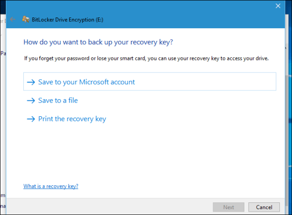 recovery-key-finding