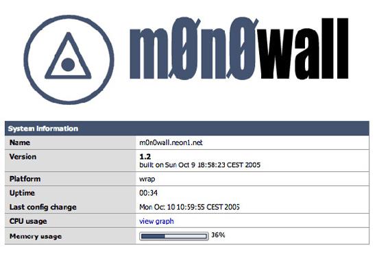 monowall-system-status