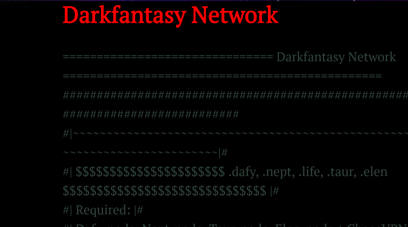 The Resurrection of the Dark Fantasy Network: Does It Exist?
