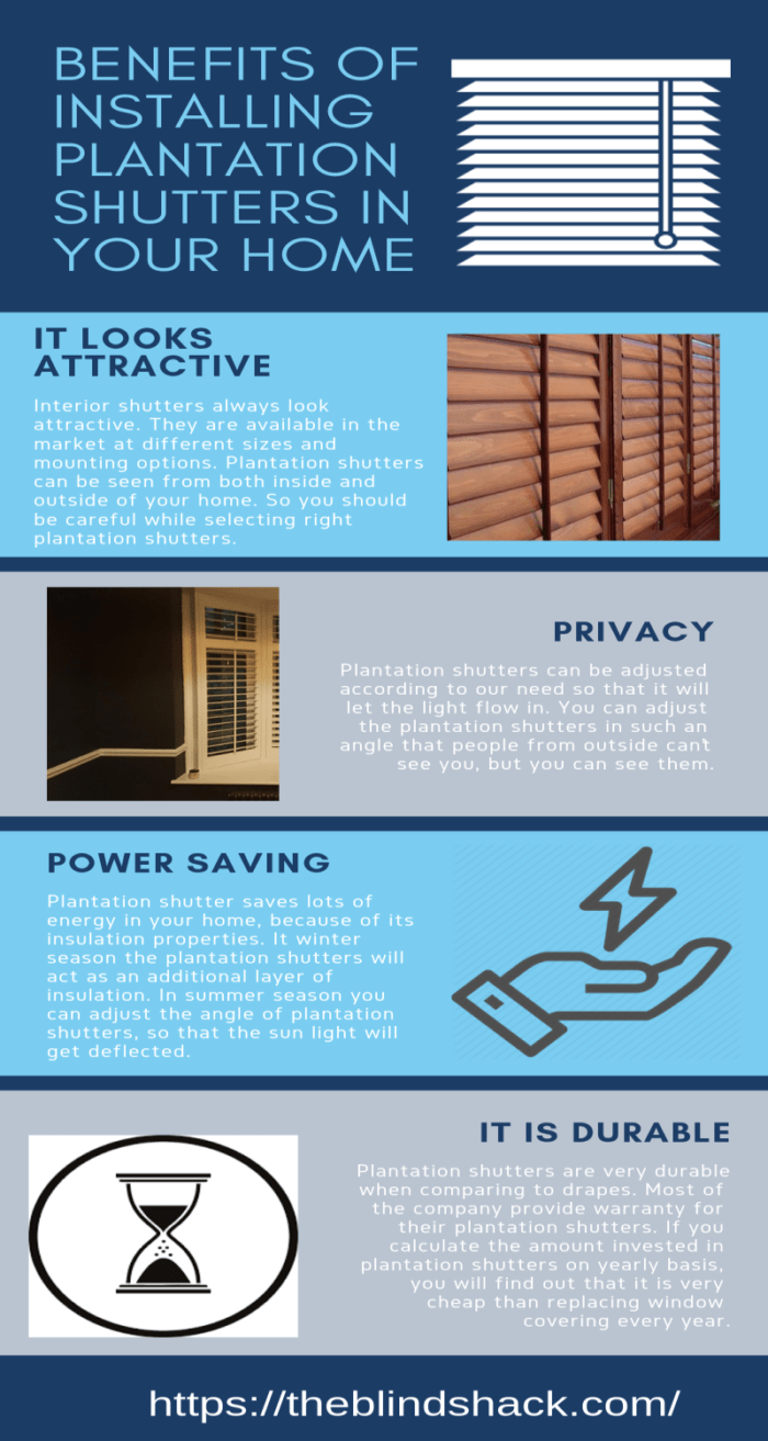 Benefits Of Installing Plantation Shutters In Your Home