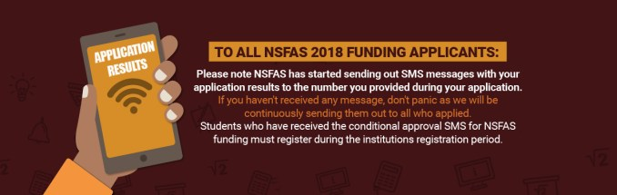 Image result for NSFAS APPLICATION STATUS