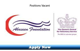 Jobs in Abaseen Foundation Peshawar 2019 Apply Now