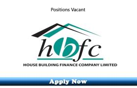 Jobs in House Building Finance Company Limited 2019
