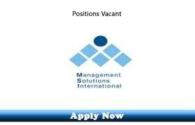 Engineering Jobs in Management Solutions International Qatar 2019 Apply Now
