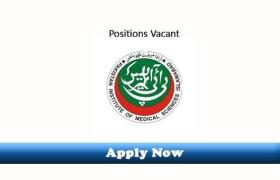 75 New Jobs in Pakistan Institute of Medical Sciences PIMS Islamabad 2019 Apply Now