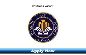 Jobs in Punjab Daanish Schools and Centers of Excellence Authority Dera Ghazi Khan 2020 Apply Now
