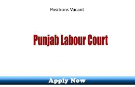 Jobs in Punjab Labor Courts Lahore 2019 Apply Now
