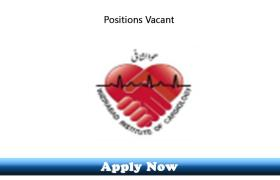 20 New Posts in Wazirabad Institute of Cardiology 2019 Apply Now
