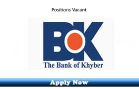 Jobs in The Bank of Khyber 2020