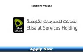 Jobs in ETISALAT LLC UAE 2020 Apply Now