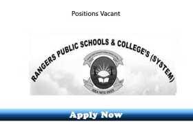 Jobs at Rangers Public School Kasur 2020