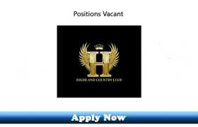Jobs in Highland Country Club 2020 Apply Now