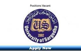 Jobs in Sargodha Medical College at DHQ Teaching Hospital Sargodha 2020 Apply Now