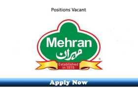 Jobs in Mehran Group 2020 Apply Now