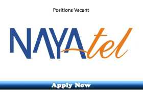 Associate Engineer Required at Nayatel 2020