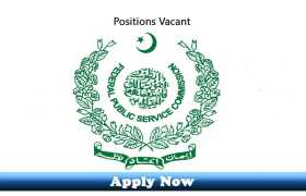 Jobs in Federal Public Service Commission Islamabad 2020