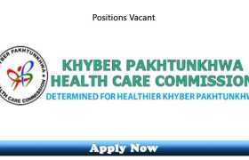 Jobs in Khyber Pakhtunkhwa Healthcare Commission 2020