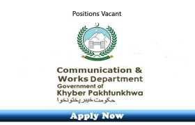 Jobs in C&W Department Khyber Pakhtunkhwa 2020