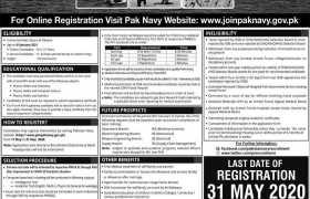 Join Pak Navy 2020