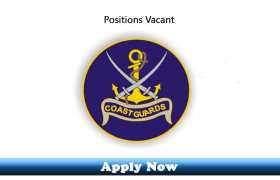 Jobs in Pakistan Coast Guards 2020