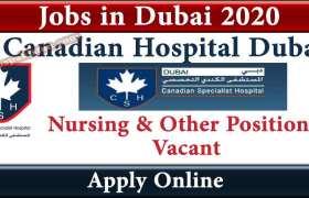 Canadian Hospital Dubai Careers 2020