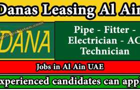 Staff Required at Danas Leasing Al Ain 2020