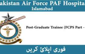 Pakistan Air Force PAF Hospital Islamabad Jobs 2020