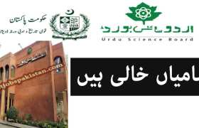 National Heritage and Culture Division Urdu Science Board Lahore Jobs 2020
