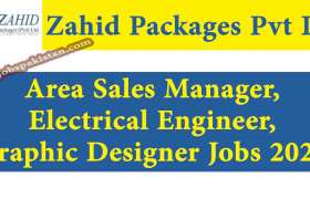 Jobs in Zahid Packages Pvt Ltd 2020