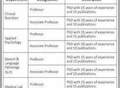 Nur International University Jobs 2020