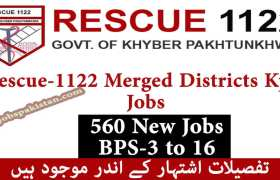 Rescue-1122 Merged Districts Jobs 2020