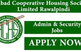 Abad Cooperative Housing Society Limited Rawalpindi Jobs 2020
