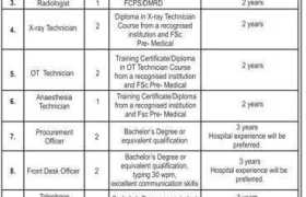 Medikay Cardiac Center Islamabad Jobs 2020