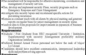 ASF Security Pvt Ltd Karachi Jobs 2020