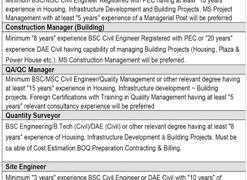Vision Group Park View Villas Lahore Jobs 2020