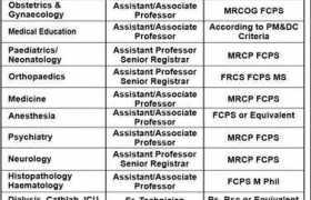 Niazi Medical & Dental College Sargodha Jobs 2020