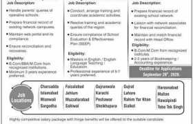 Allied Schools Jobs 2020