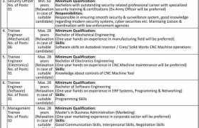 Pakistan Machine Tool Factory Pvt Ltd Karachi Jobs 2020