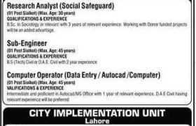 LG&CD Department Punjab Jobs 2020
