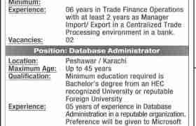 Khyber Bank Jobs 2020