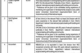 University of Swabi Jobs 2020