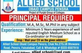 Allied School Faisalabad Jobs 2020