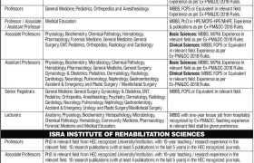 ISRA University Karachi Jobs 2020