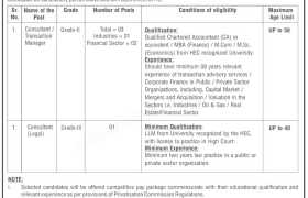 Ministry of Privatisation Jobs 2020